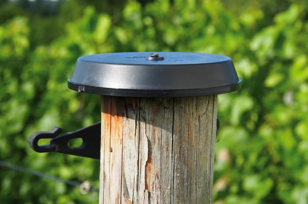 Pfahlschutzkappe 100 mm für Pfähle bis 80 mm - 100 Stück