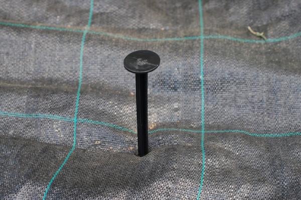 Gewebeanker / Erdnagel 205 mm lang - 100 Stück