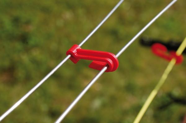 Drahtclip 2 für Drähte mit 2,5 bis 2,8 mm - 1000 Stück