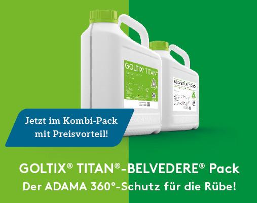 Goltix Titan Belvedere Pack (10l Goltix Titan + 7,5l Belvedere Duo)